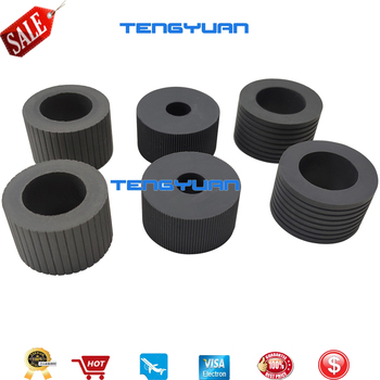 1X PA03575-K011 PA03575-K012 PA03575-K013 Pick Roller Set Brake Roller Separator Roller Tire Rubber for Fujitsu fi-6400 fi-6800
