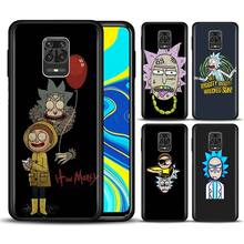 Rick and Morty Phone Case for Xiaomi Redmi Note 7 8 8T 9S Note 8 9 Pro Redmi 6A 7A 8A K20 K30 Pro Silicone Soft Cover capa marvel superheroes logo phone case for xiaomi redmi note 7 8 8t 9s note 8 9 pro redmi 6a 7a 8a k20 k30 pro silicone cover