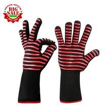 1 Paar Hittebestendige Dikke Siliconen Koken Bakken Barbecue Oven Handschoenen Bbq Grill Wanten Afwas Handschoenen Keuken Benodigdheden
