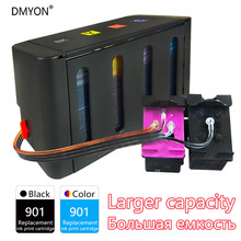 Supply-System J4600-Printer Continuous-Ink Hp 901 Officejet DMYON for J4500/4500/J4540/..