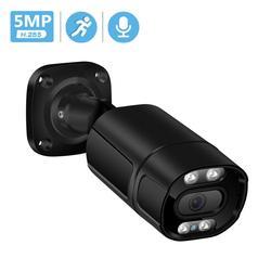 BESDER 5MP 48V POE IP-камера Наружная P2P Ai обнаружение движения RTSP 3MP 1080P HD Инфракрасная камера IP ONVIF Аудио-камера видеонаблюдения