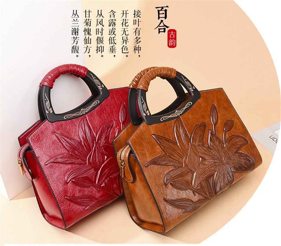 Designer de couro do vintage sacos crossbody