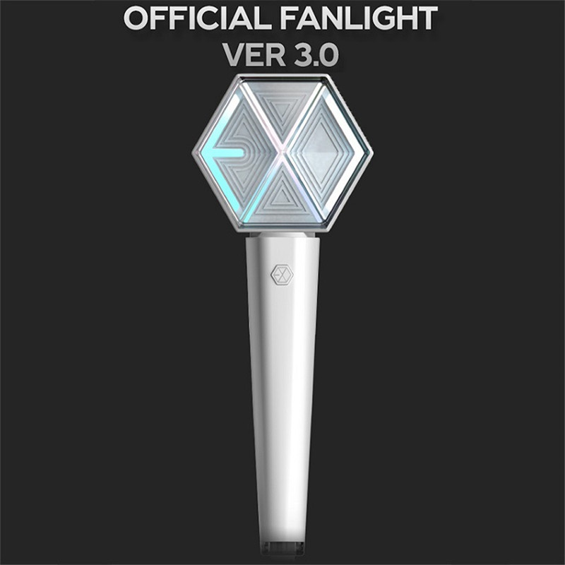 Kpop EXO Official Light Stick Ver.3 0 Tour Concert Fan Light Supporting Lightstick EXO Hand Lamp Gift Collection Night Lamp