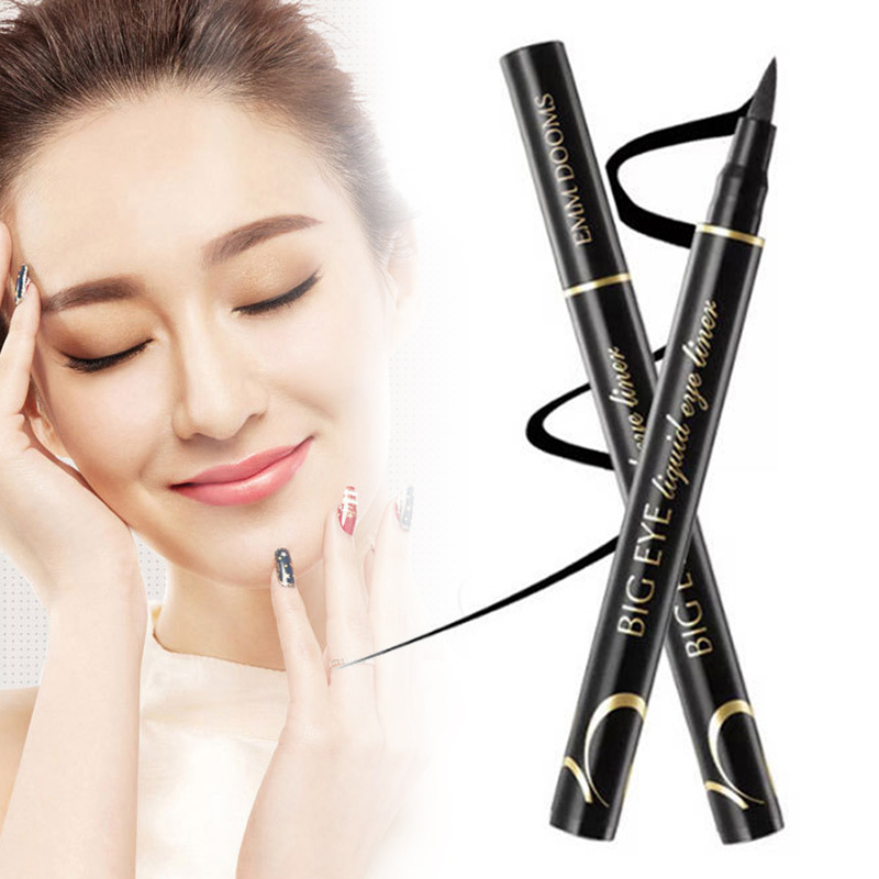 1 Pcs Eyeliner Liquid Pen Waterproof Long Lasting Quick Drying Smooth Makeup Beauty Dropshipping SMJ