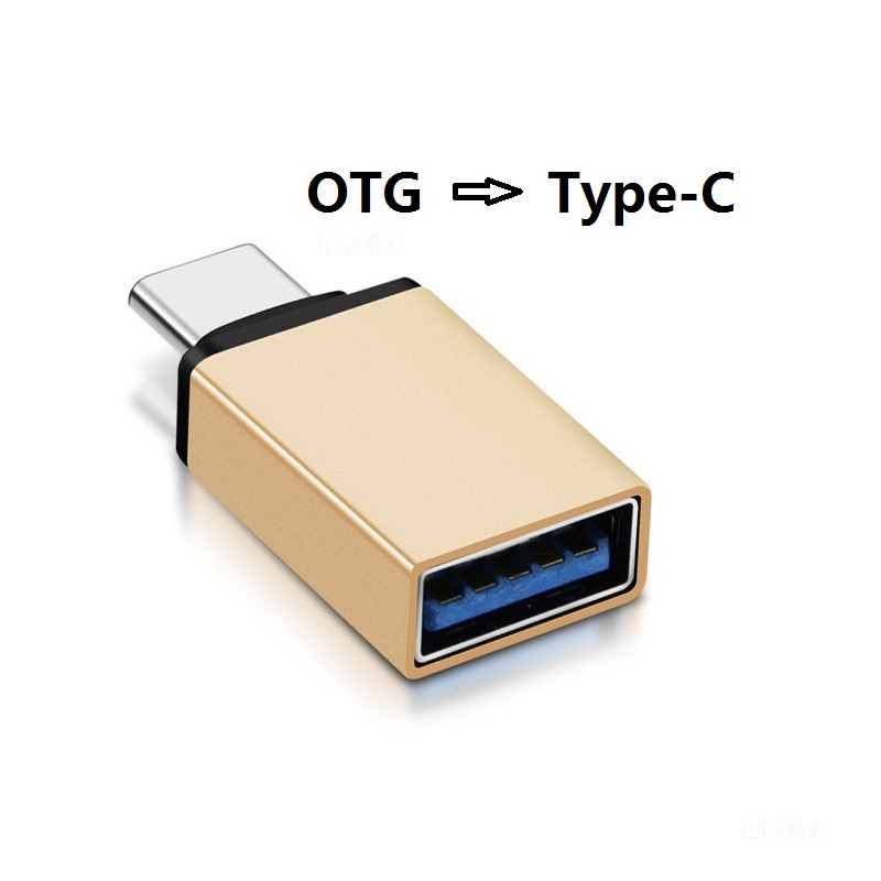Aluminum Alloy Male USB 3.1 Type-C To Female USB 3.0 OTG Converter Adapter Metal Data Transmitting Connector Free Shipping