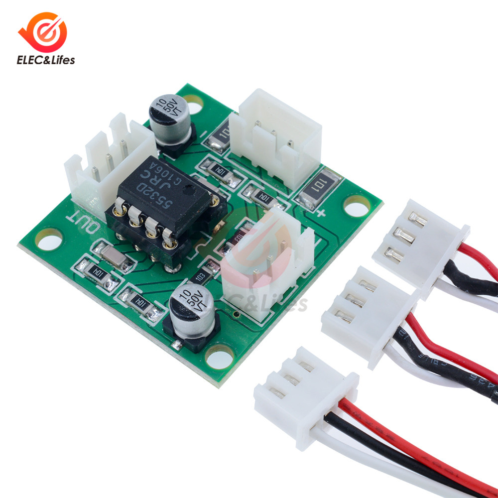 Dual-Channel NE5532 Audio Amplifier Board Power Supply Amplifiers Module Bluetooth Pre-amp for Audio Equipment