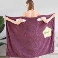 WOSTAR женские полотенца супер абсорбирующие взрослые креативная сексуальная с открытыми плечами дизайн складной портативный для путешестви...