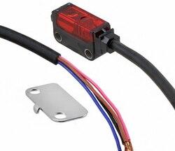 EX-L221 oryginalny nowy Ultra kompaktowy samodzielne rozproszone laserowa  odblaskowa czujnik 45-300mm odległość wykrywania-2 m kabel-NPN