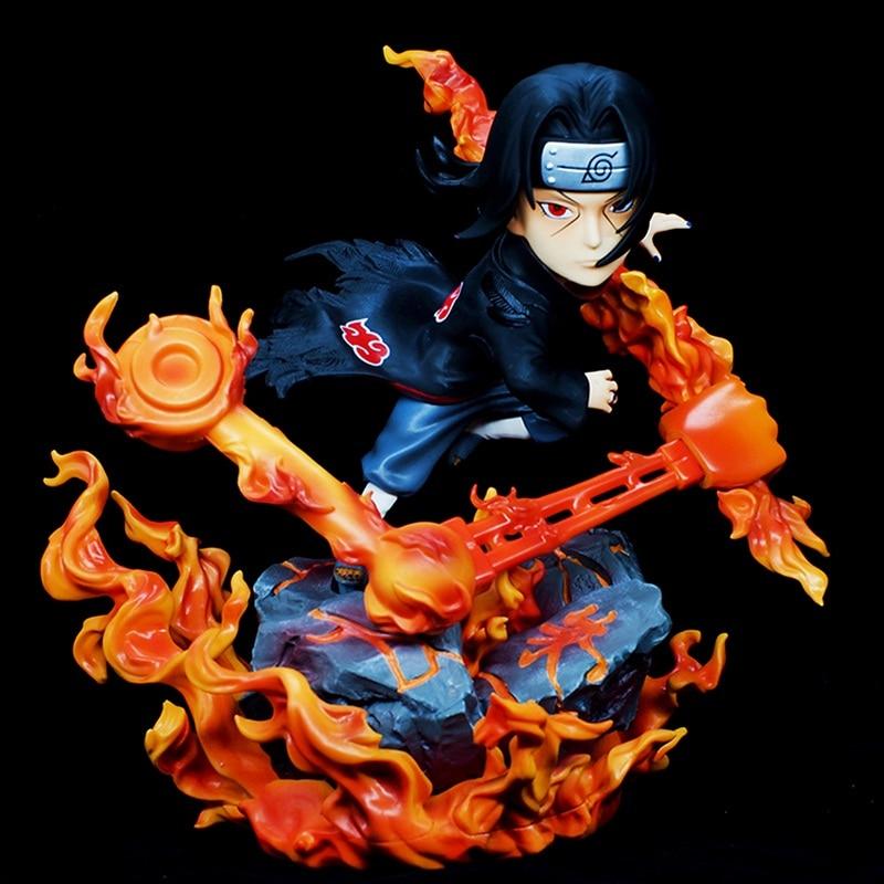 Animation Garage enfant Naruto livraison Collection jouets: figurine en PVC poupées Susanoo Uchiha Itachi modèle décoration meilleur cadeau