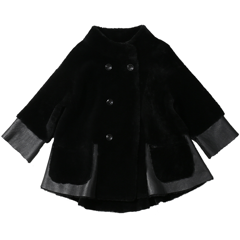 The New 2020 Winter Coat Coats On Both Sides And A Full-size Wool All-in-one Women's Coat With Long Sleeves On European And Amer