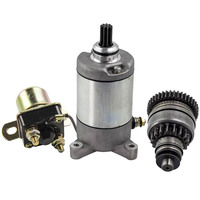 New Starter Drive & Relay Solenoid for POLARIS TRAIL BOSS 330 329cc Engine 2003 2012