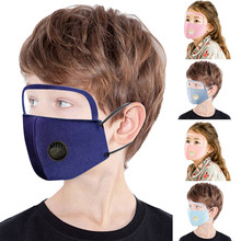 Protective-Face-Mask Mascarillas Halloween Cosplay Sheld Child with Eye Exhaust-Switch