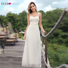 Elegant Wedding Dresses Long Ever Pretty Sweetheart Sleeveless Cream Sexy Formal Marriage 07835 Robes De Mariee