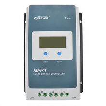 EPEVER – traceur 12/24V DC, 1206AN 1210AN 2206AN 2210AN 3210AN 4210AN 10A 20A 30A 40A, contrôleur de Charge MPPT pour panneaux solaires, LCD