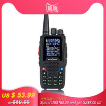 Quad Band Walkie talkie UHF VHF 136 147Mhz 400 470mhz 220 270mhz 350 390mhz 4 Band Handheld Two Way Radio Ham Transceiver  KT 8R