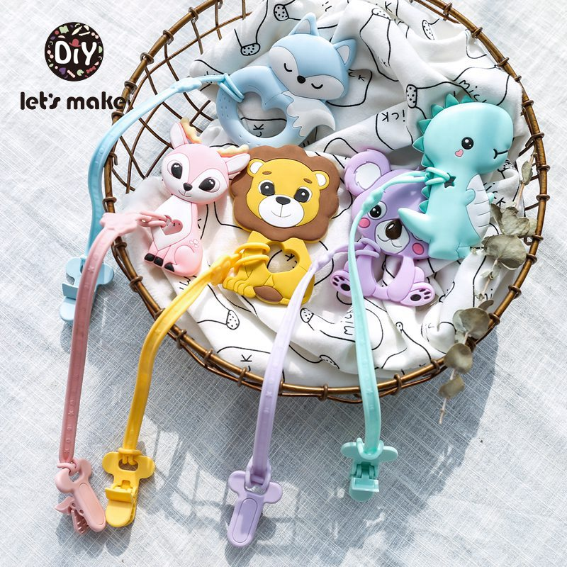 Coffee Cup Teether BPA Free Silicone Baby Teething Beads DIY Baby Teeth Toy Gift