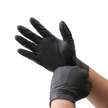 Black Nitrile Gloves 10-100Pcs Food Grade Waterproof Allergy Free Safe Kitchen/Rubber/Work Disposable Latex Glove - discount item  51% OFF Workplace Safety Supplies