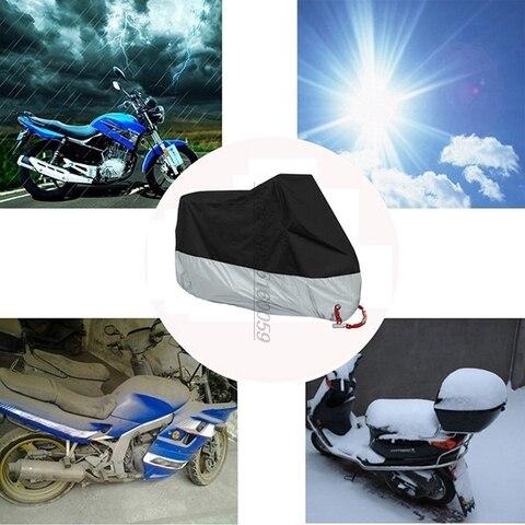 uv anti tampas da motocicleta para capa de