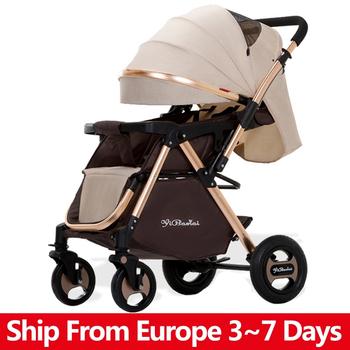 Składany wózek dziecięcy wysoki krajobraz wózek dziecięcy wózek przenośny wózek podróżny wózek dla noworodka lekki wózek dziecięcy tanie i dobre opinie CN (pochodzenie) 0-3 M 4-6 M 7-9 M 10-12 M 13-18 M 19-24 M 2-3Y 15KG Numer certyfikatu Folding Baby Stroller