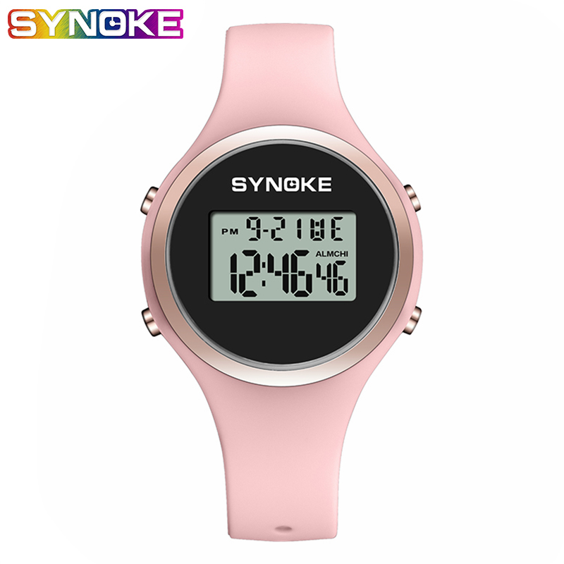 SYNOKE Couple Watch Men Women Sport LED Digital Waterproof Watch Fashion Gifts For Men Fitness Women Watches Couple Gift Watches