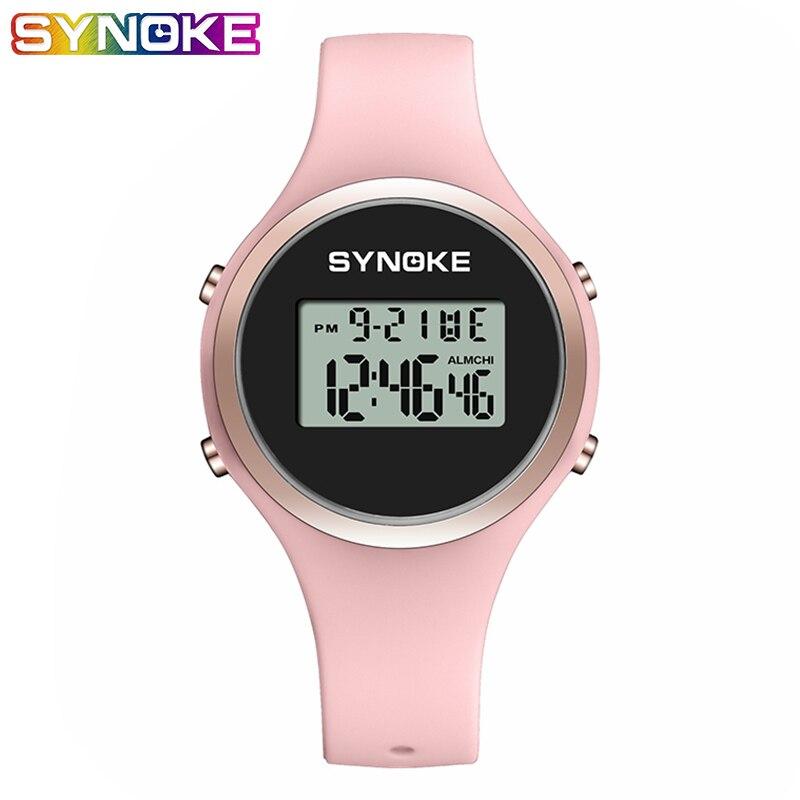 SYNOKE Couple Watch Men Women Sport LED Digital Waterproof Watch Fashion Gifts For Men Fitness Women Watches Couple Gift Watches
