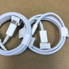 100pcs/lot AAAAA+ 1M USB C to Lightnin Cable USB 2.0 Data Sync Charge Cable For Support fast charging cable For with retail box