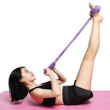 Equipamentos de treino de fitness bandas elásticas ginásio resistência látex pedal exercitador expansor bandas elásticas equipamentos yoga pilates