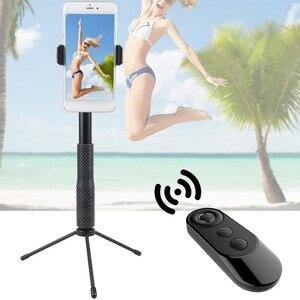 Image 3 - Neue Auslöser Kamera Controller Adapter für Selfie Zubehör Foto Control Bluetooth Remote Taste für Selfie