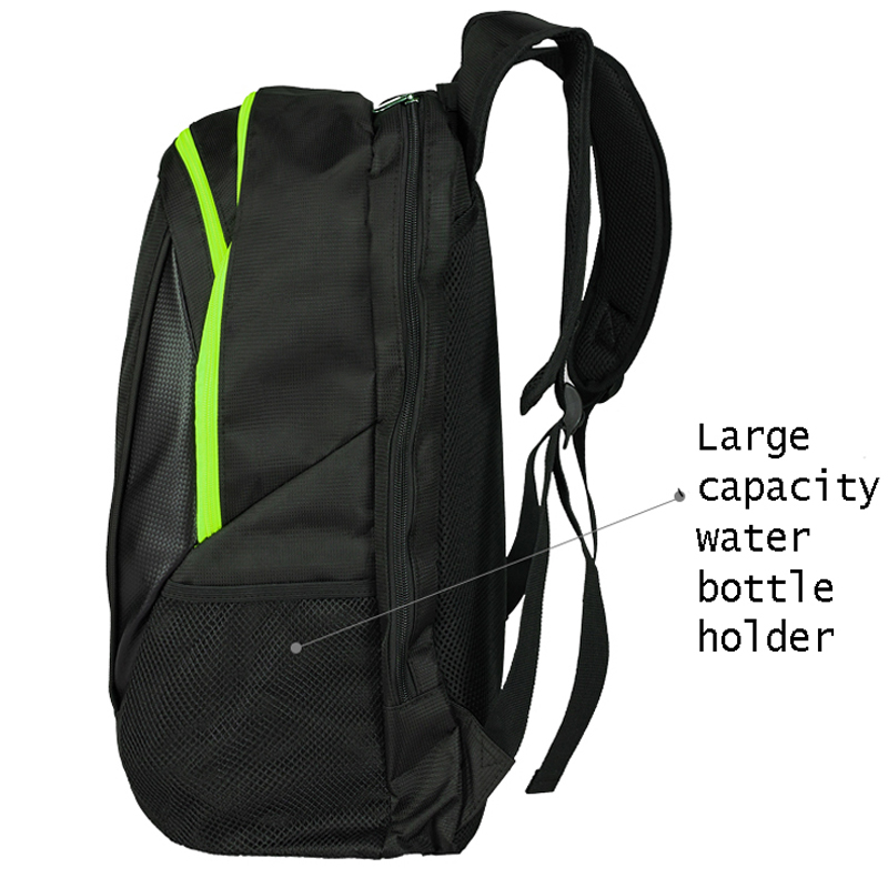 Youth and Adults Waterproof Badminton Racket Bag Cover 6 Racquet Hand Bag Tennis Shoulder Bags Sports Unisex Design for Men Women