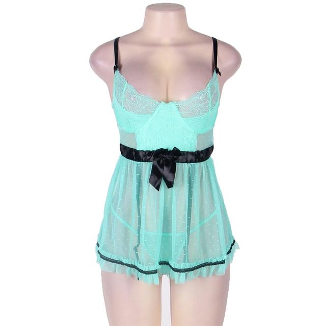 Exotic Transparent Nightwear 8