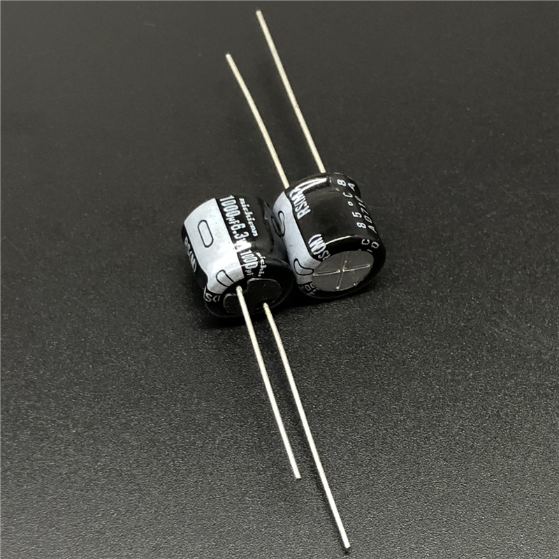 50pcs 1000uF 6.3V NICHICON RS Series Low Frofile10x9mm 6.3V1000uF Aluminum Electrolytic Capacitor