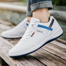 Зимняя Теплая мужская обувь; Кожаные черные синие белые кроссовки;