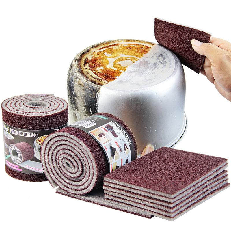 Magic Melamine Sponge Carborundum Kitchen Sponge Eraser for Pan Pot Dish Sponges Kitchen Utensils Household Cleaning Items