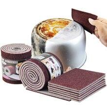 Melamina mágica esponja carborindo cozinha esponja borracha para pan pot prato esponjas utensílios de cozinha utensílios de limpeza do agregado familiar itens