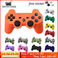 DATA FROG para Sony Playstation3 para PS3 controlador inalámbrico Bluetooth Gamepad Joystick para Mando PS3/PC Gamepads control