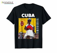 Cuba T-Shirt Afro Cuban Cigar Tee Shirt Vintage Fashion Men And Woman T Free Shipping