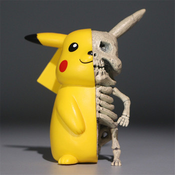 цена Anime Pikachus Skeleton Dissection PVC Figure Dolls Toy Collectible Funny Action Figure Model Toys Gifts for Children онлайн в 2017 году
