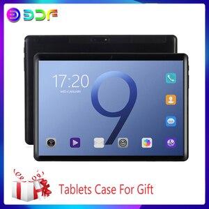 10,1 inch Tablet pc Новый Android 9,0 Планшеты 3G/4G Телефонный звонок Octa Core 6 ГБ + 64 ГБ Встроенная память Bluetooth Wi-Fi 2.5D Сталь Экран планшет