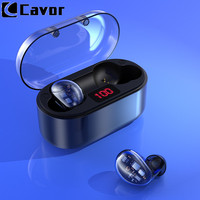 Bluetooth 5.0 Wireless Earphone Headphones For Huawei P30 Lite P20 Pro Mate 20 X Waterproof Hifi Earbuds With Mic Charging Box