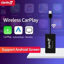 Carlinkit беспроводной Автомобильный ключ carplay android для