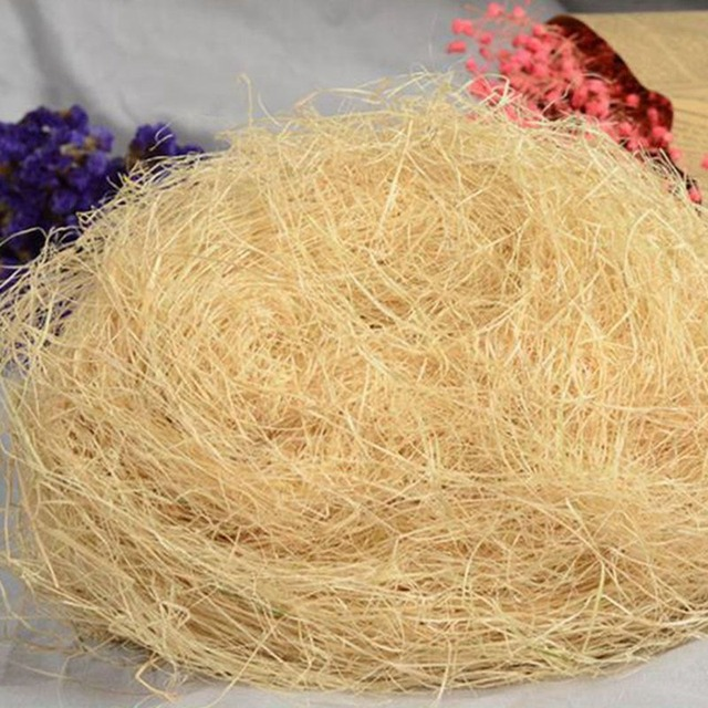 Nesting Raffia Grass - Eco-Friendly Lightweight - Finches & Canaries Love It! - 30g pack 1