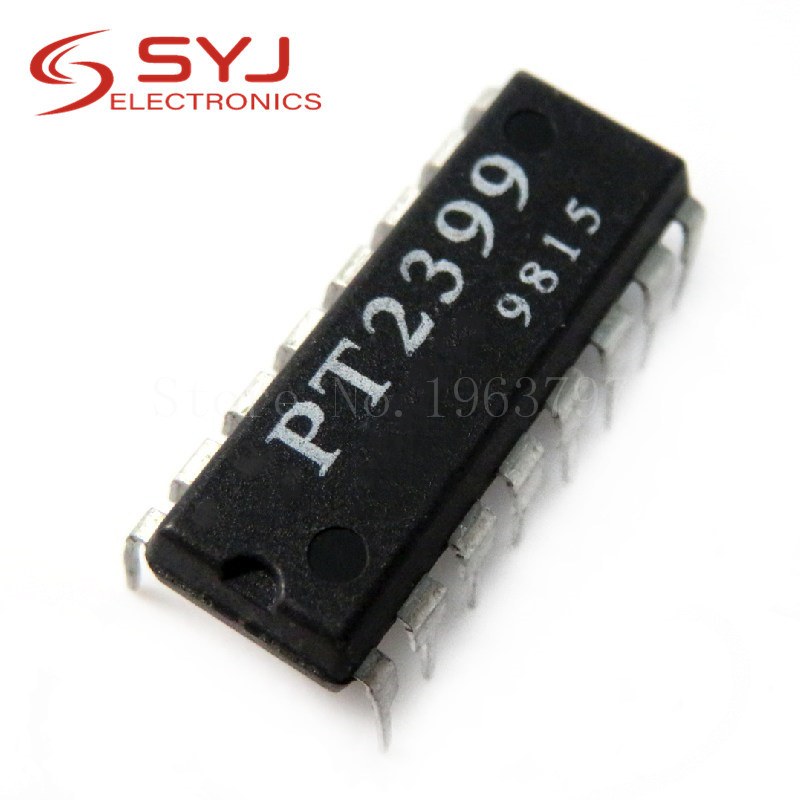 5pcs/lot PT2399 2399 DIP-16 In Stock