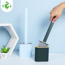 Toilet-Cleaning-Brush-Set GUANYAO 1pcs Glue Wall-Hanging Long-Handle Household Creative