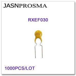 Image 1 - JASNPROSMA 1000PCS/LOT RXEF030 XF030 60V 300MA PTC Resettable Fuse 0.3A DIP