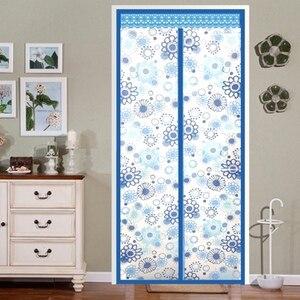 Кондиционер комнаты/кухня магнитный экран двери Магнитная Тепловая Изолированная сетка экран двери шторы