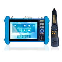 T1X 7inch H.265 4K IP Camera Tester 4K 8MP 1080P IPC CCTV Monitor Video Audio POE Test Touch Screen HDMl In out
