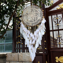 Nordic Home Docor DreamCatcher DIY Wall Hanging Decoration Home Girls Room Nursery Kids Decoration Wind Chimes Dreamcatcher