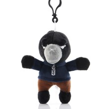 Lovely wilderness fighting key chain game action figure doll animation 8 inch, 4 inch plush toy bag pendant ring