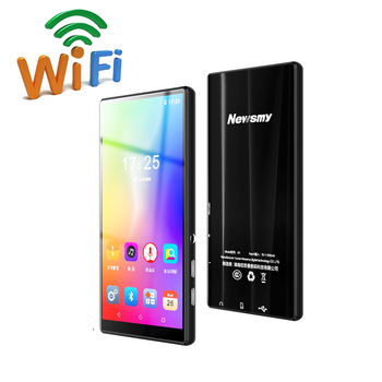 Smart WIFI MP4 Bluetooth MP4 Portable Android 8.0 MP5 Touchscreen 5 Inch Music HD Video Player for Youtube Tiktok App Download