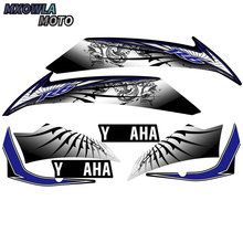 цена на motorcycle sticker protective cover fairing reflective decal decorative film for Yamaha YZF R6 yzfr6 2008-2016